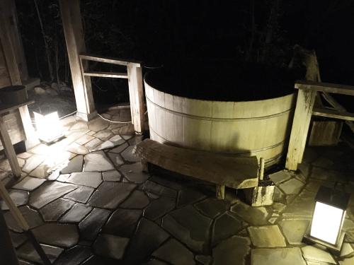1番目の貸切露天風呂