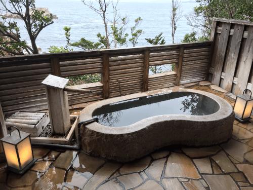 2番目の貸切露天風呂