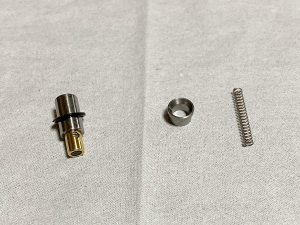 電磁弁の弁の部品