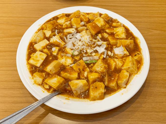 福来園の麻婆豆腐