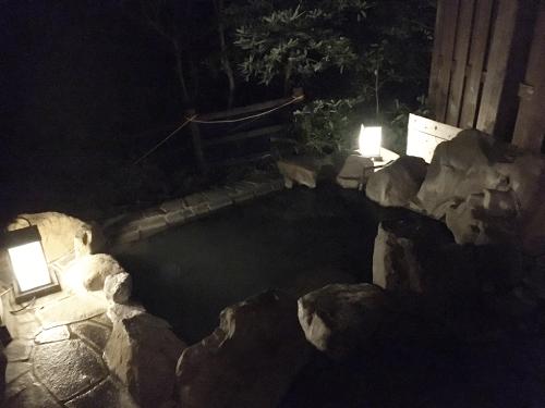 3番目の貸切露天風呂