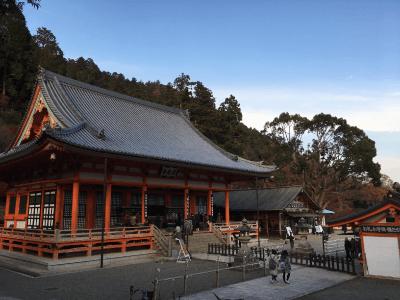 勝尾寺の本堂