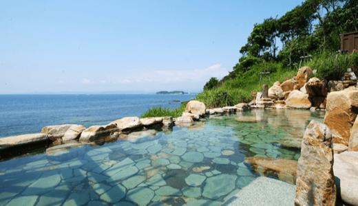白浜温泉「海舟(浜千鳥の湯)」の濃い湯でポッカポカ!