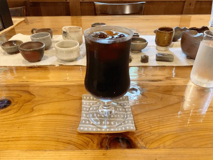 翠藍のコーヒー
