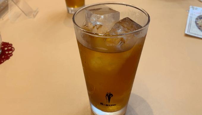 祥瑞楼のウーロン茶