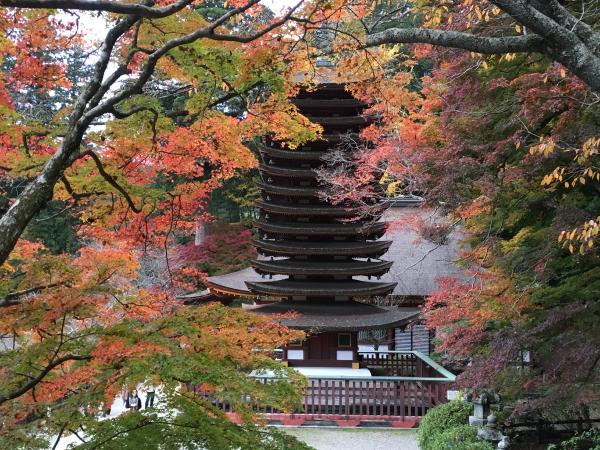 談山神社の十三の塔