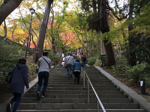 談山神社の階段