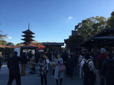 東寺の受付